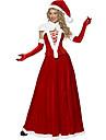 Pieces Costume de Noel Red Velvet de Santa Reine 5