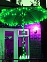 12M 100 LED RVB bande de lumiere solaire LED pour des decorations de Noel