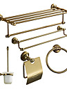 Bath Accessory Set, Antiquites 5 Piece Anodisation aluminium Set Hardware
