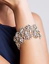 Elegant Alloy With Rhinestone Women\'s Bracelet