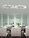 24W Hängande lampor ,  Modern Krom Särdrag for Kristall Metall Living Room / Dining Room