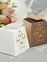 """12 Piece/Set Favor Holder - Creative Paper Favor Boxes """"A New Beginning for the Two of Us"""""""