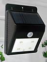 4-lumiere LED blanche LED Lumiere solaire Sensor PIR lumiere exterieure