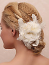 Women\'s Fabric Headpiece-Special Occasion / Casual Flowers White