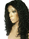 18inch 100% cheveux humains indiens perruque Lace Front