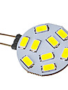 G4 2.5W 9x5730SMD 120-150LM 6000-6500K LED alb de lumină rece spot Bec (12-24V)