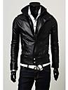Shangdu Stand Casual Collar Jacket scurt (Negru)