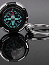 Personlig graverad gåva kompass Formad Lover Keychain