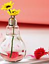 Table Centerpieces Lamp Bulb Shaped Terrarium Vase  Table Deocrations