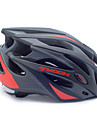 MOON Casque velo noir et rouge PC / EPS 21 Vents de protection Casque tour