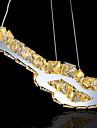 8W Contemporain Cristal / LED / Ampoule incluse Metal Lampe suspendue Salle de sejour / Chambre a coucher / Salle a manger
