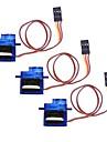Mini 9G Servo med tillbehör - Genomskinlig Blå (3ST)