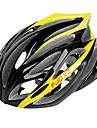 Casque Velo (Jaune , PC / EPS)-de Femme / Homme / Unisexe - Cyclisme Route / Sports / Half Shell 21 Aeration M : 55-59cm / L : 59-63cm