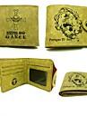 Väska / Plånböcker Inspirerad av One Piece Portgas D. Ace Animé Cosplay Accessoarer Plånbok Gul Läder / PU Läder Man