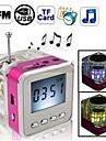 trådlösa högtalare 2.0 CH Bärbar / Utomhus / Support Minneskort / support FM / Mini