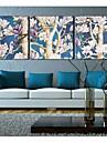 Canvas Art Landscape FlowersFull Filial Conjunto de 3