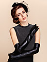 Opera Length Fingertips Glove Leather Bridal Gloves/Winter Gloves/Party/ Evening Gloves