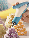 Soft-paste Porcelain Cake Decorating, L10.5cm x W3.5cm x H16cm