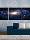 Întins Canvas Art Fantasy Sky Set de 3