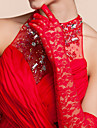 Opera Length Fingertips Glove Lace Bridal Gloves/Party/ Evening Gloves