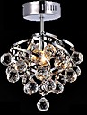 5 Contemporain / Traditionnel/Classique / Rustique Cristal / LED / Ampoule incluse Chrome Cristal Lustre / Lampe suspendue