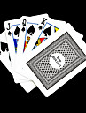 Personnalise Gris cadeau motif de verification des cartes de jeu pour Poker