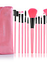 make-up per voi 12pcs rosa set pennello professionale
