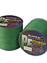 500M / 550 Yards PE Braided Line / Dyneema / Superline Fishing Line Green 18LB / 20LB / 28LB 0.16,0.2,0.23 mm ForSea Fishing / Freshwater