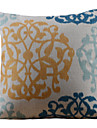 Retro färgglada blomman Bild Dekorativa Kuddfodral