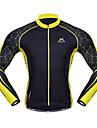 Mysenlan Maillot de Cyclisme Homme Manches longues Velo Maillot Hauts/TopsGarder au chaud Sechage rapide Pare-vent Vestimentaire