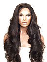 20inch peruanska Virgin Human Hair Full Lace Peruker Natural Hair