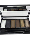 6 Färger Makeup Eye Shadow Palette (CY3207-01)