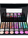 78 Palette Fard a paupieres Humide Palette Fard a paupieres Poudre Normal Maquillage Smoky-Eye Maquillage Quotidien Maquillage de Fete