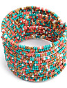 Women\'s Boho Chic Multi-row Beaded Bracelet(Assorted Colors)