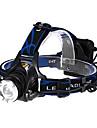 Belysning Pannlampor LED 600 Lumen 3 Läge Cree XM-L T6 AA Justerbar fokus / Taktisk / självförsvar Multifunktion Aluminiumlegering / ABS