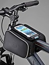 Roswheel Cycling Bike Bicycle Front Top Tube Frame Pannier Double Bag Pouch for 5 inch Cellphone