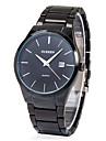 Men's Watch Dress Watch Calendar Casual Watch Steel Band Black Cool Watch Unique Watch