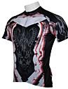PALADIN® Cykeltröja Herr Kort ärm Cykel Andningsfunktion / Snabb tork / Ultraviolet Resistant Tröja / Överdelar 100% Polyester
