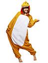 Kigurumi Pyjamas Dinosaurie Leotard/Onesie Halloween Animal Sovplagg Gul Lappverk Polar Fleece Kigurumi UnisexHalloween / Jul / Karnival