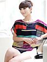 Women\'s T-Shirts , Chiffon Saiwei