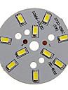 5W 400-450lm Cool White Light 5730SMD LED Module Integrat (15-18V)