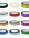 1PCS Striping Tape Linje Nail Stripe Tejp Nail Art Decoration Sticker (Blandade färg)