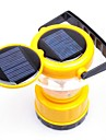 9-LED Solar Lantern Outdoor Super Bright Camping ljus