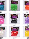 600pcs arc de bande de metier de la mode couleur de metier (le clip de 1package, couleurs assorties)