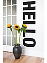 JiuBai™  Big Hello Word Art Home Decoration Wall Sticker Wall Decal, 43*152cm
