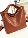 Women's Special Twin Top Handles Brief Handbag
