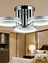 18 Takmonterad ,  Modern Krom Särdrag for Flush Mount Lights Metall Living Room / Bedroom / Sovrum