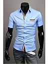 Menmax Stripe Mosaic kortärmad t-shirt