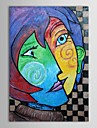 IARTS®Hand Painted Oil Painting Museum Masters Paintings  Pablo Picasso Kiss Painting  Reproduction with Stretched Frame