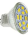 JUXIANG Dekorativ Spot Lampen MR11 GU4 5 W 560 LM 6000-6500 K 12 SMD 5730 Kuehles Weiss DC 12 V